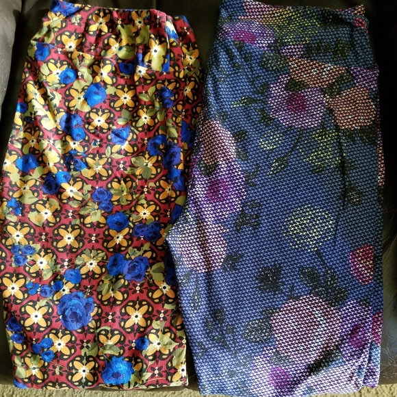 LuLaRoe Pants - 2 pair of Lula Roe TC leggings